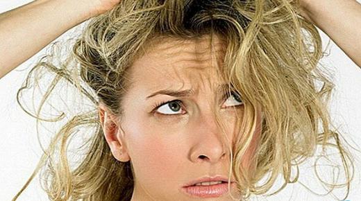 وصفات طبيعية للشعر الجاف والمتقصف