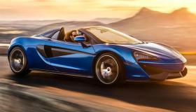 مواصفات وأسعار سيارة ماكلارين سبايدر McLaren 570S 2019