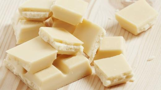 حلويات مميزة باستخدام الشوكولاتة البيضاء