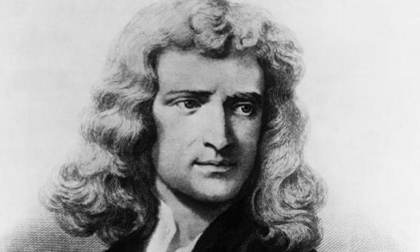 إسحاق نيوتن مكتشف الجاذبية الأرضية