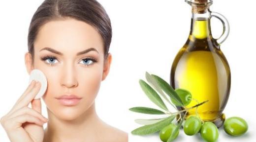 فوائد تطهير الوجه بزيت الزيتون