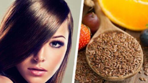 فوائد ماء بذر الكتان لتقوية الشعر