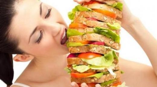 ما سبب الجوع السريع ؟