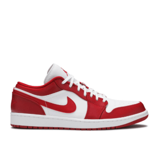 air jordan 1 low red white