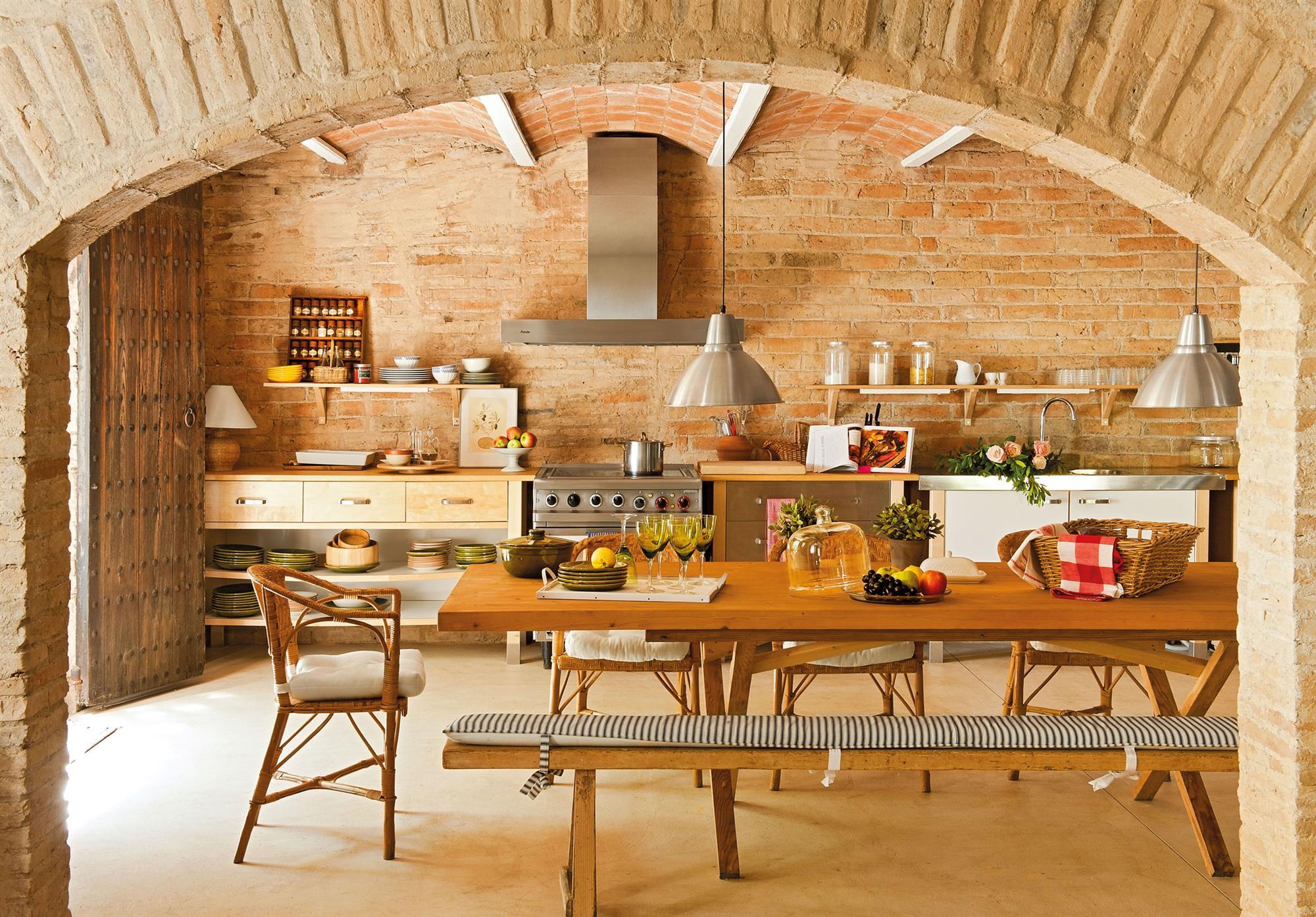 Barras Y Cocinas Con Arcos