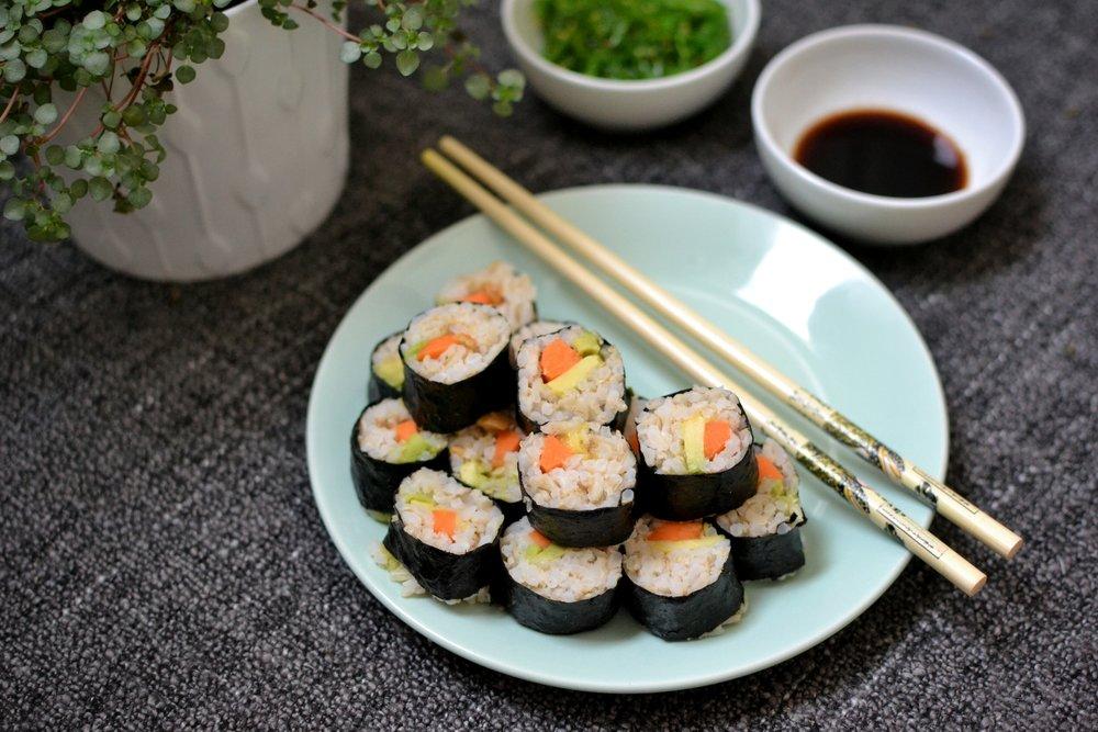 Victoria Lozada-sushi vegetariano 2. Victoria Lozada