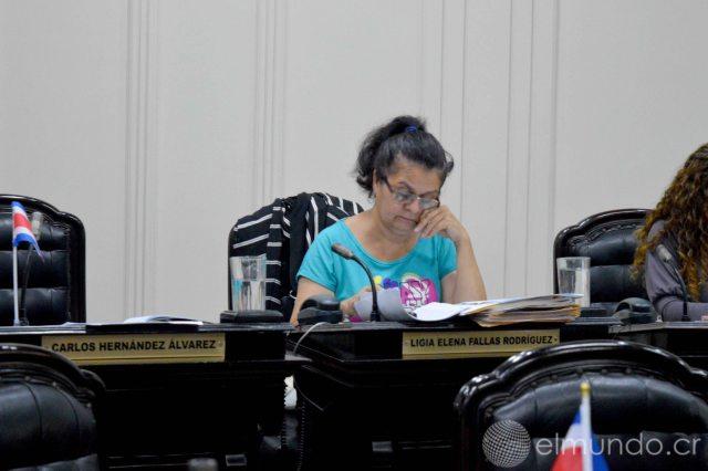 Ligia Fallas encabeza los esfuerzos para intentar que el proyecto de Ley no sea aprobado