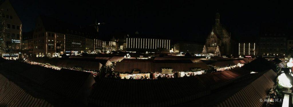 mercados de navidad en alemania. nuremberg