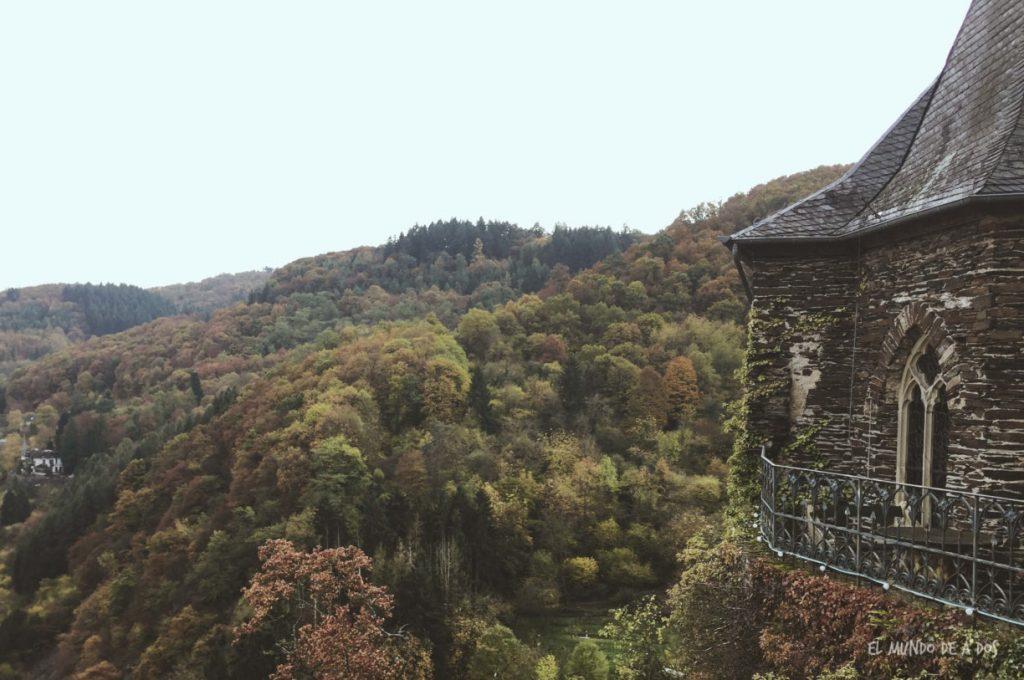 El castillo y su increíbles vistas. Cochem