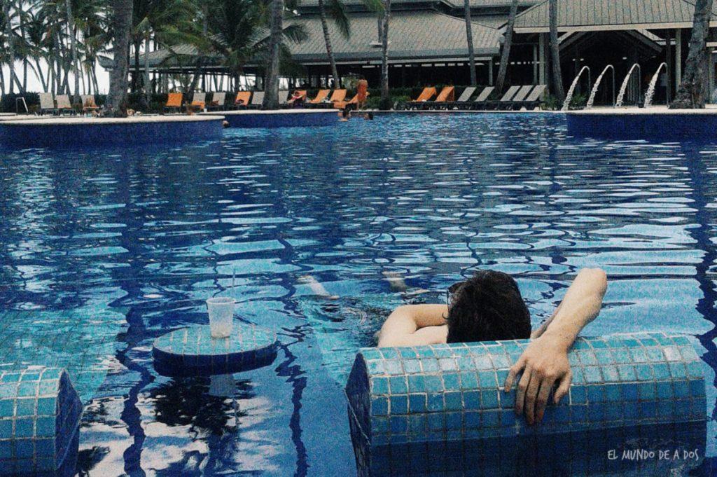 Hora del relax. Punta Cana en octubre