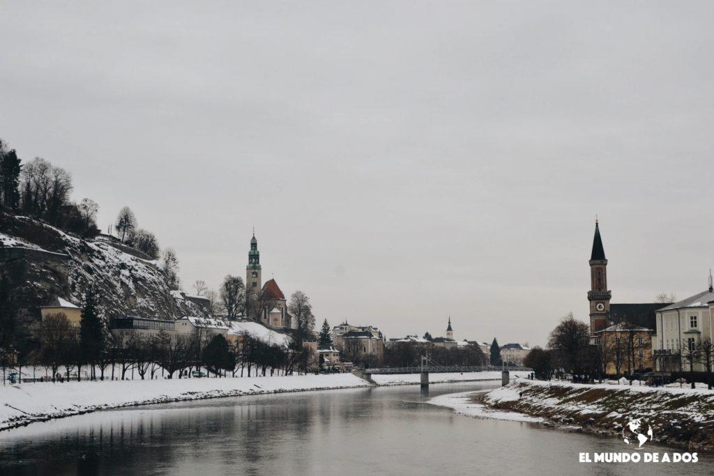 El canal. Salzburgo en un dia