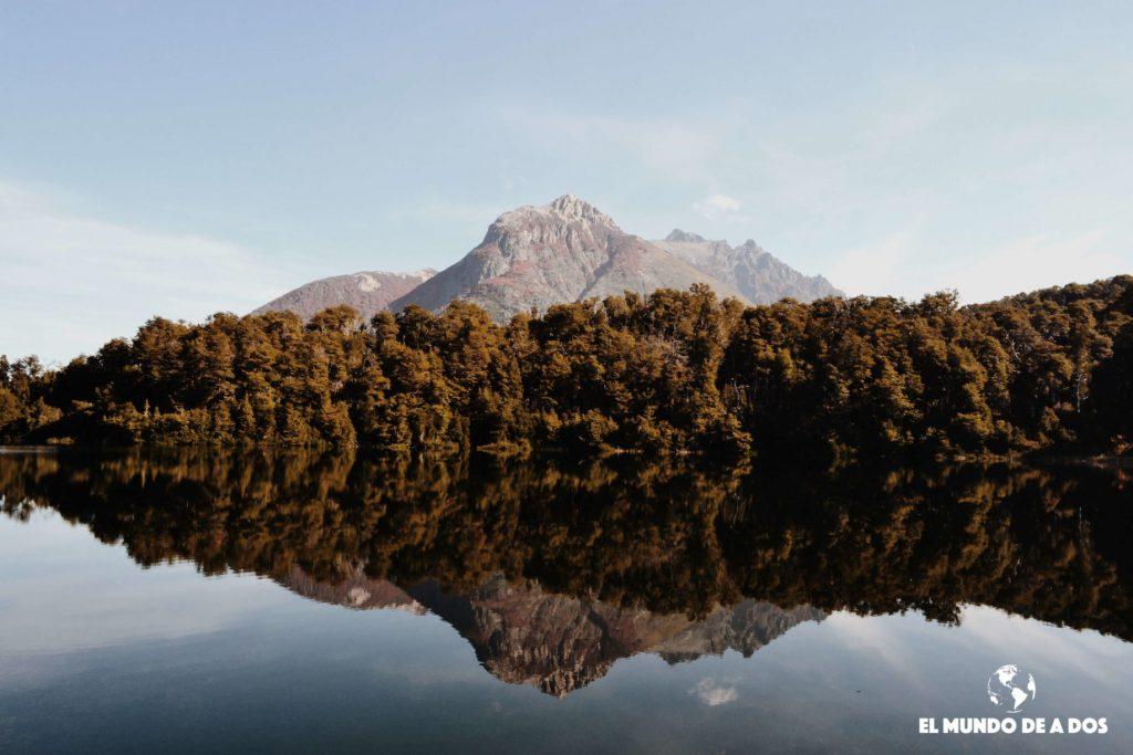 Lago Escondido Bariloche. Bariloche en otoño