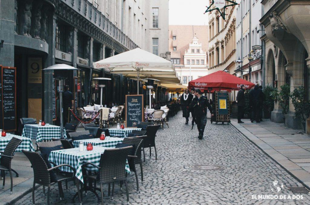 Calles de Leipzig. Que ver en Leipzig