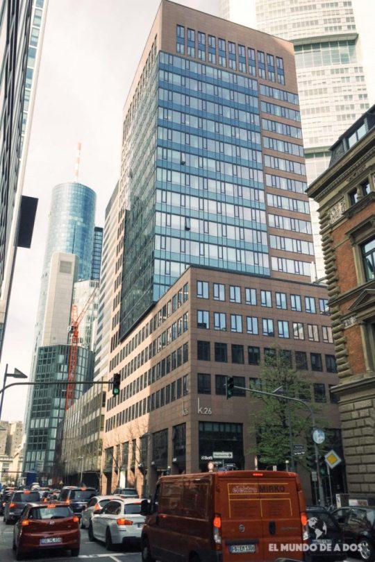 Rascacielos de Frankfurt. Curiosidades de Frankfurt