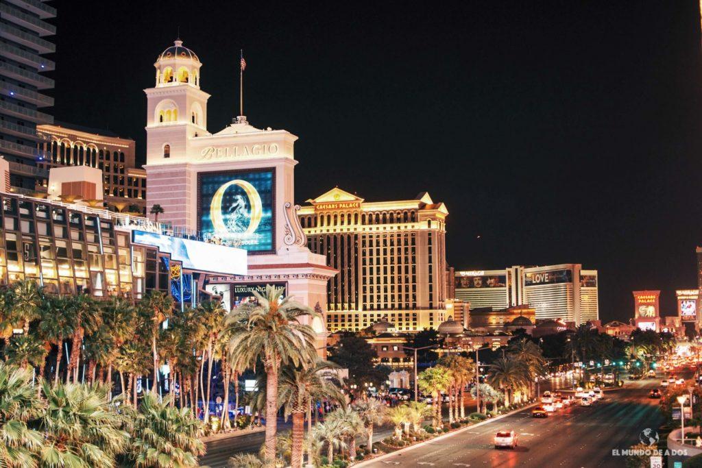 Las Vegas, paseando por la ciudad de las luces.