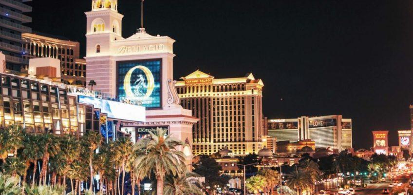 Las Vegas. costa oeste de estados unidos