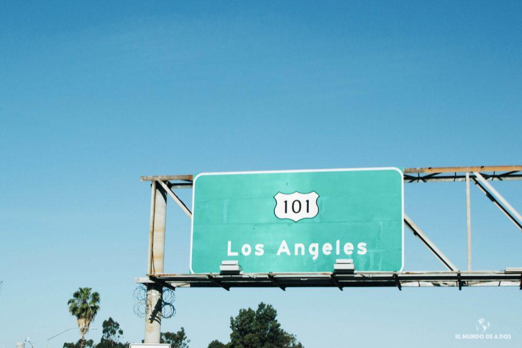 Los Angeles autopista. Lugares para visitar en Los Ángeles California