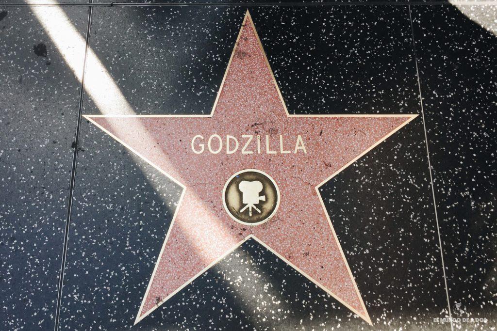 Godzilla. Lugares para visitar en Los Ángeles California