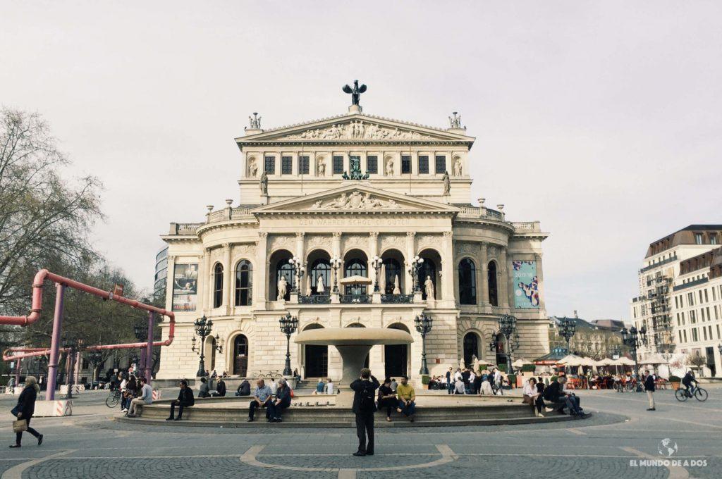 Alte Oper. Que ver en Frankfurt