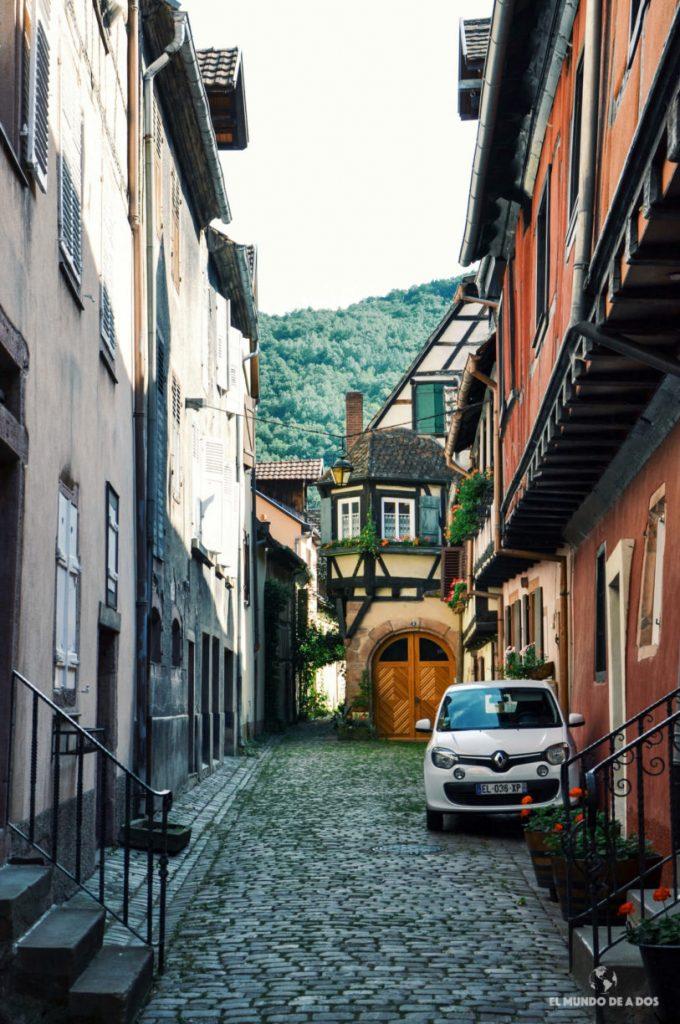 Los pasajes más lindos de Francia. Kaysersberg Francia