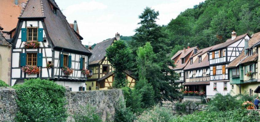 Colores que cuadran con la ciudad. Kaysersberg Francia