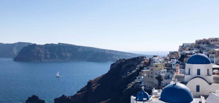 La ciudad de Oia. Caldera de Santorini