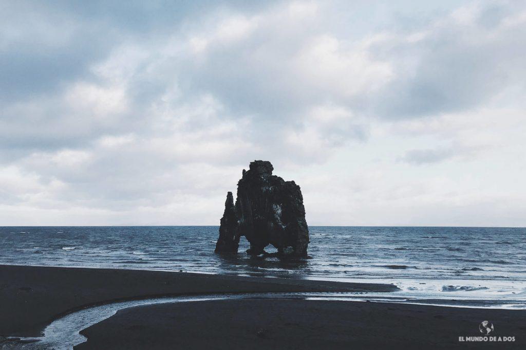 Hvítserkur. Ruta por Islandia en 10 días