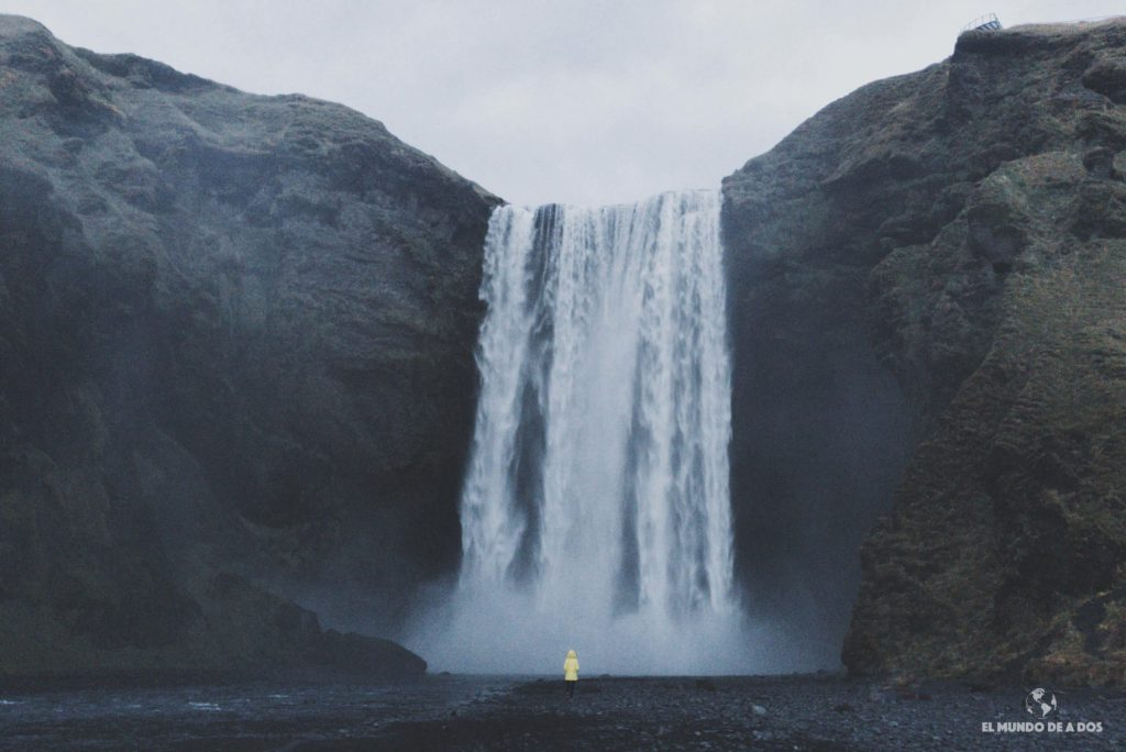 Skógafoss. Ruta por Islandia en 10 días