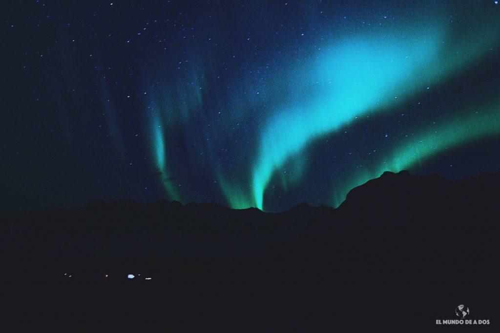 Predicción de auroras boreales en Islandia. Cómo leer el Aurora Forecast y más.