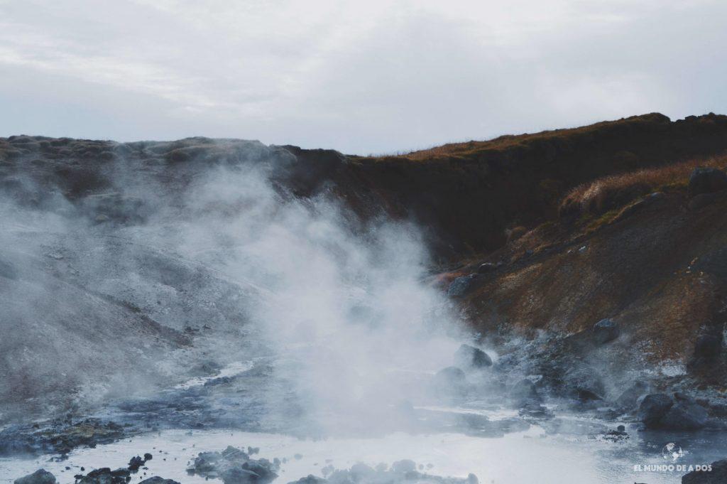 Actividad geotérmica. Ruta por Islandia en 10 días