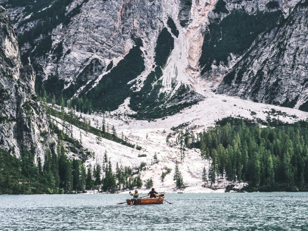 Selfie en el Lago di Braies