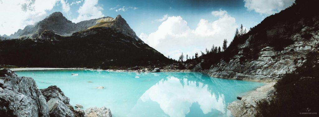 Panorámica del Lago Sorapis