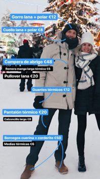 Ropa Pablo. Viajar a Laponia en invierno