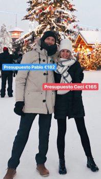 Presupuesto ropa. Viajar a Laponia en invierno