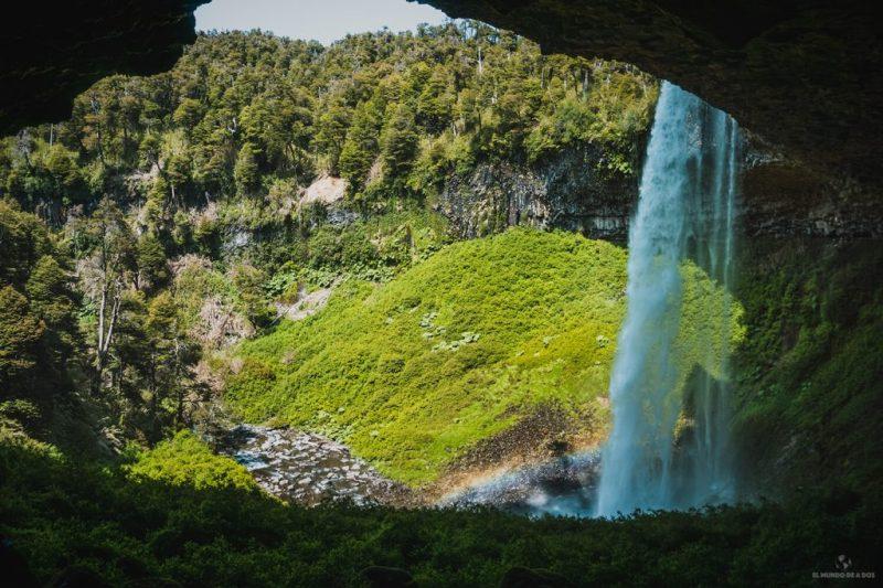Cascada Santa Ana en Villa La Angostura