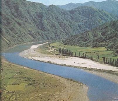 Curvas y meandros de los ríos