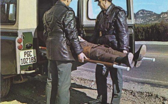 Policía en las carreteras