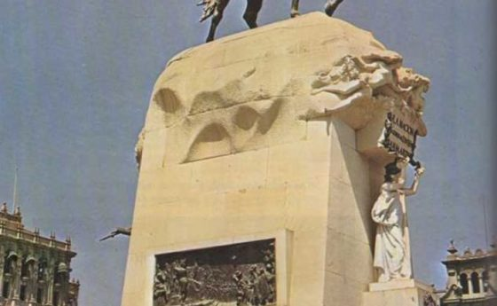 Una estatua para un libertador