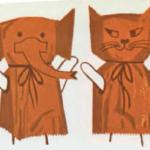 Títeres con bolsas de papel