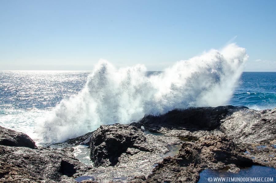 Piscinas naturales del norte de Gran Canaria - Charcos inferiores