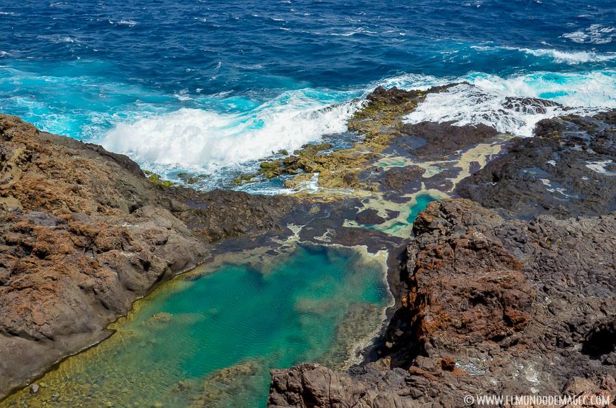 Piscinas naturales del norte de Gran Canaria - Charco de los Espejos
