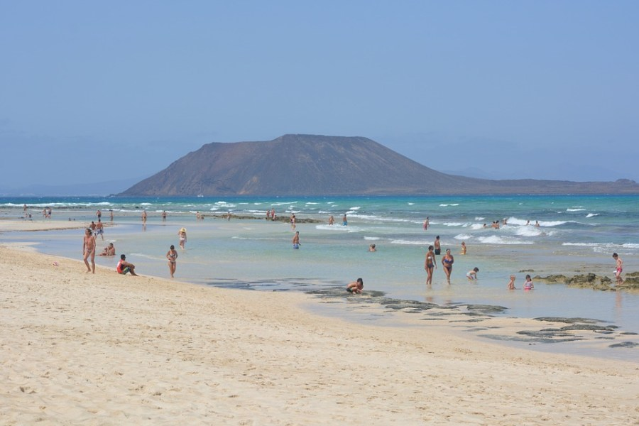 Playas del norte de Fuerteventura - Corralejo
