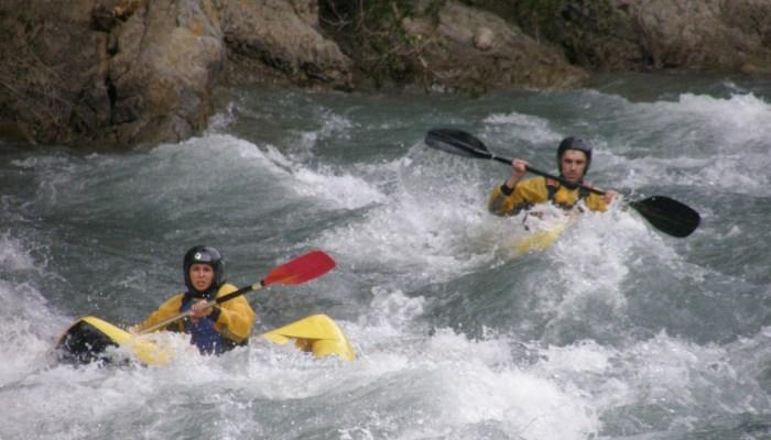 Canoa Raft en Benasque y Festival Pirineos Sur