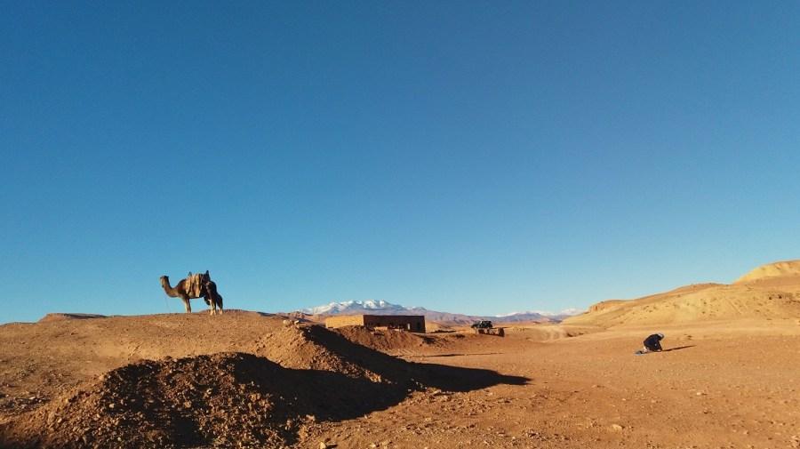 Ruta de Marrakech a Ouazarzate