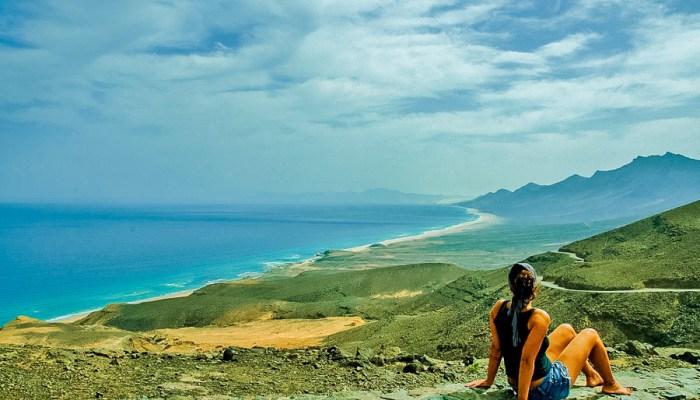 Playa de Cofete en Fuerteventura.