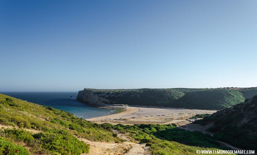 las mejores playas del Algarve - Senderos Praia de Barranco