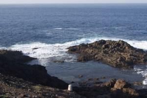 Piscinas naturales de Gran Canaria - Charco de Los Cangrejos (zona abierta la mar)