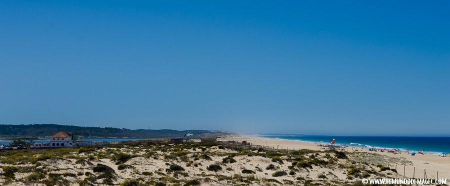 Playas del Alentejo - Laguna de San Andrés