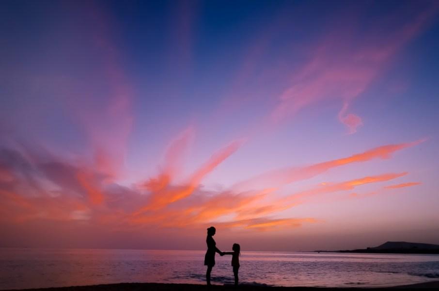 Que hacer en Lanzarote - Ocaso en playa de Las Mujeres, Los Ajaches