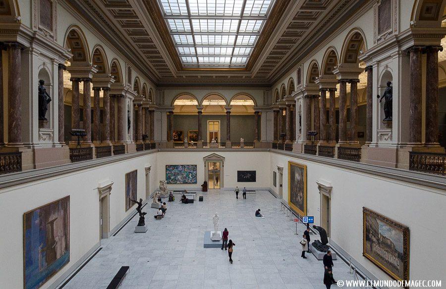 que ver en bruselas en dos días - museo de las bellas artes